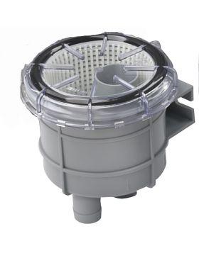 """Sjövattenfilter typ 140, med anslutning för slang med i.d. 19 mm (¾"""")"""