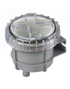"""Sjövattenfilter typ 330, med anslutning för slang med i.d. 38 mm (1½"""")"""