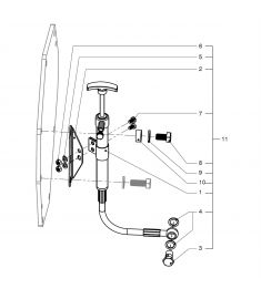 Oil drain pump M4 Pump with attachments