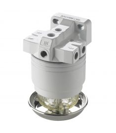 Vetus Vattenavskiljande bränslefilter för bensin, CE/ABYC, 10 micron, komplett