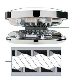 Kättinhjul för 2200 - 2500 serien passande 3/8 BBB, 10 mm DINN766 kätting