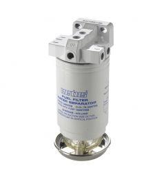 Vattenavskiljande bränslefilter CE/ABYC, enkel, 10 micron, max. (380 l/h)