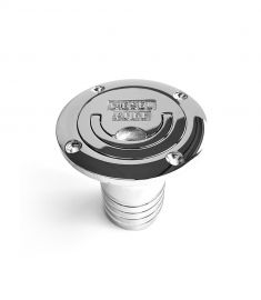 "Filler cap ""diesel fuel"" 38mm chrome plated, flush handle"