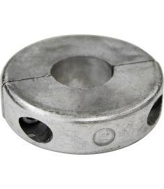 """Axelanod i zink modell """"Ring"""" för 25mm axel - 0,31 kg"""