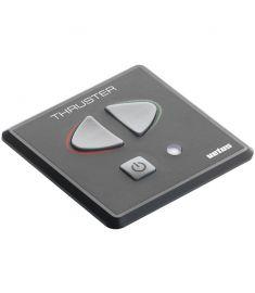 Kontrollpanel med touchknappar och tidsfördröjningsrelä för bog- eller akterpropeller. 12/24 volt