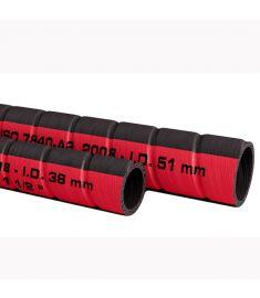 Bränslepåfyllningsslang  i.d. 38 mm (pris/m)