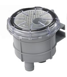 """Sjövattenfilter typ 140, med anslutning för slang med i.d. 16 mm (5/8"""")"""