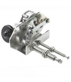 Heavy duty torkarmotor,  12V, 75W - kort axel