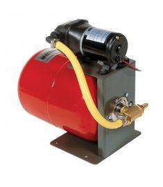 Tryckvattensystem 24 Volt, inkl. pump och expansionskärl på 8 l.