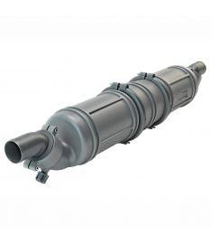 Ø45 mm - 5 liter - Vattenlås/ljuddämpare typ NLP3, effektivaste reduktion av ljudet