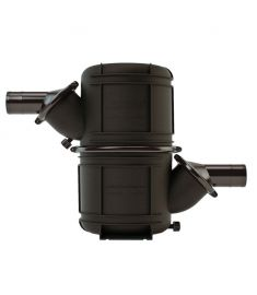 Vetus Vandlås / lyddæmper Type NLPHD (Heavy Duty) - Ø50 - 4.5 liter