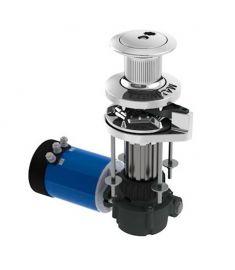Ankarspel VW10-8 til 8 mm kätting och 14-16 mm line, 1000W, 100TDC, 24V. + Lintrumma