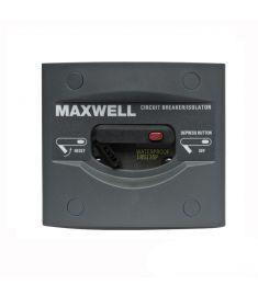 Batterifrånskiljande strömbrytarpanel med automatsäkring 70 Amp. 12 V / 24 V
