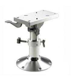 Manuellt justerbar stolspiedestal med slide - höjd 30-40 cm