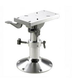 Manuellt justerbar stolspiedestal med slide - höjd 43,5-63,5 cm