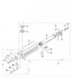 Heatexchanger cpl. m4.15-m4.17