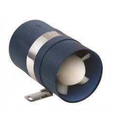Inline Utsugsfläkt  ventilator 12V - I.D.slang Ø75 mm