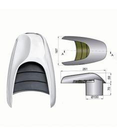 Snäckventilator typ Typhon, Ø 100 mm
