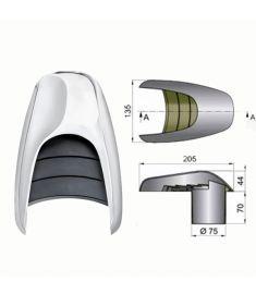 Snäckventilator typ Typhon, Ø 75 mm