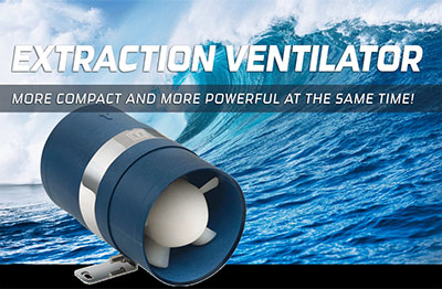 The new TWINLINEB extraction ventilator: more compact and more p